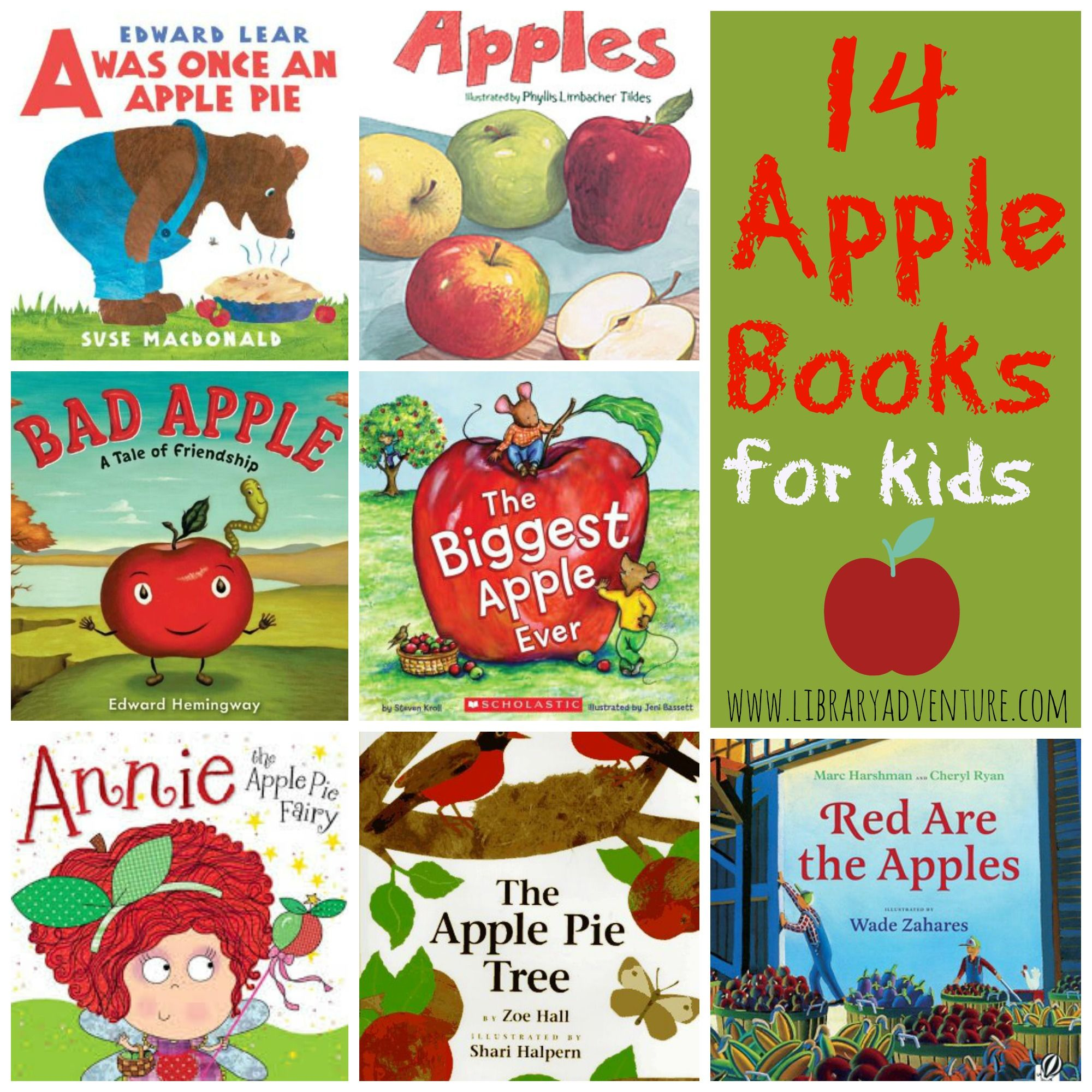 14 Apple Books For Kids