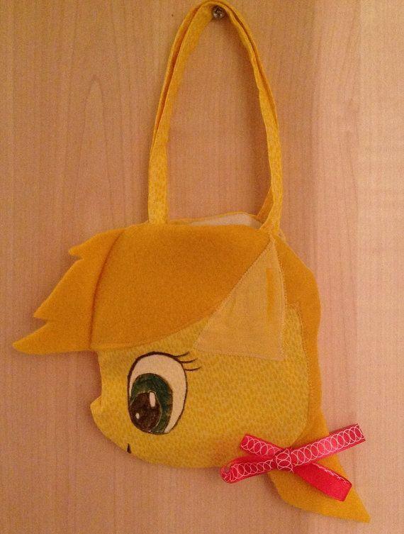 My Litttle Pony inspired 'Applejack' mini doll face bag on Etsy, £10.00