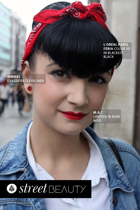 Street Beauty By She Said Beauty Rachael Wears Rimmel Exaggerate