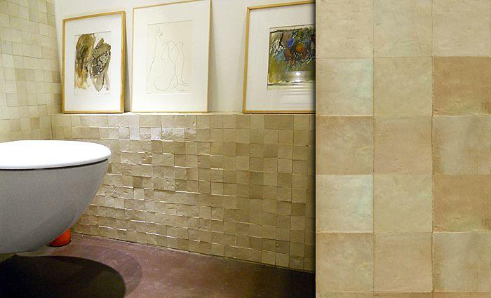 zellige moroccan glazed tiles in a wide range of pearlised colours mosaic del sur bath. Black Bedroom Furniture Sets. Home Design Ideas