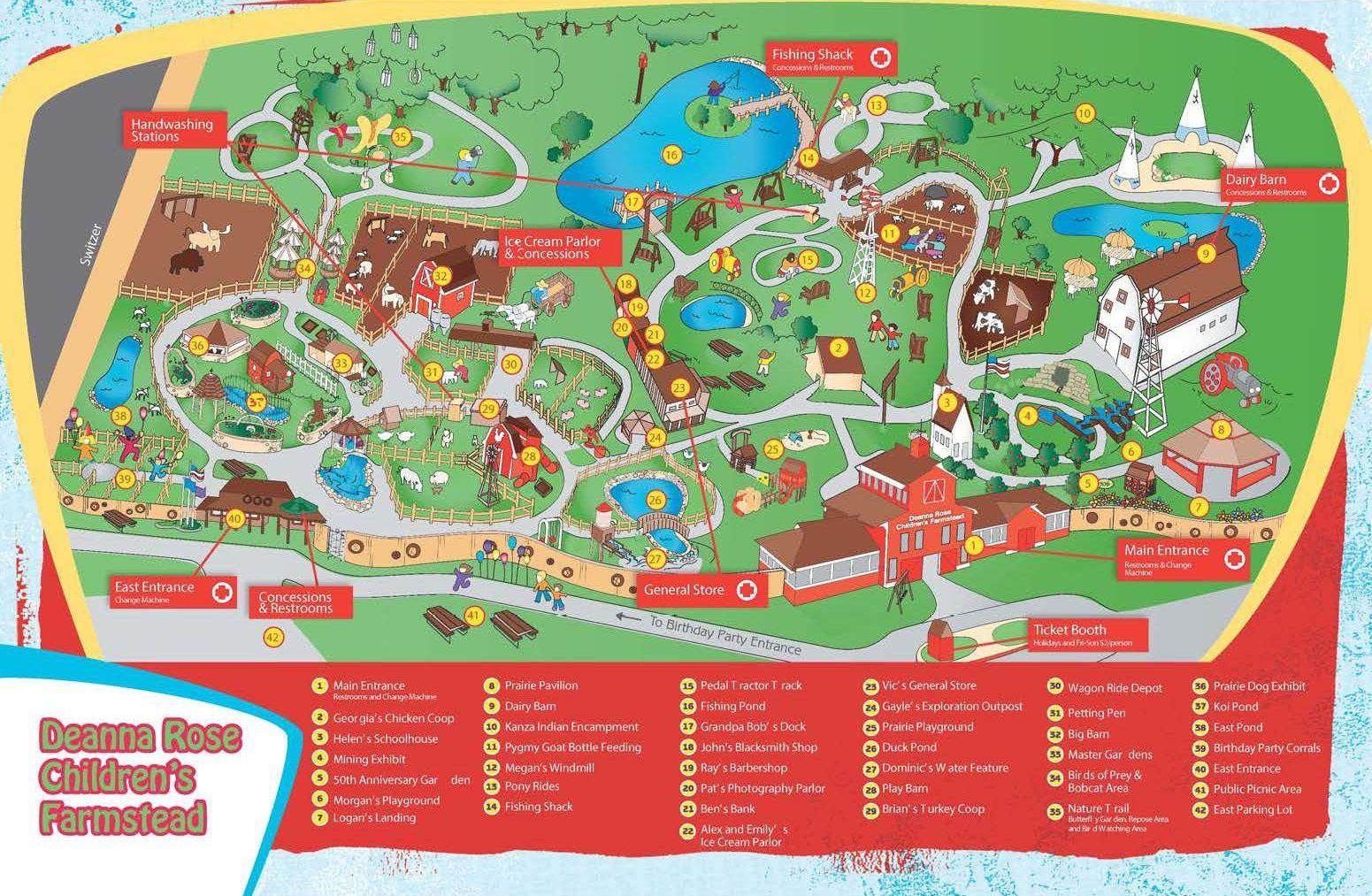 Deanna Rose Cheat Sheet Insider Tips For Fun At The Children S Farmstead Farmstead Fun Rose