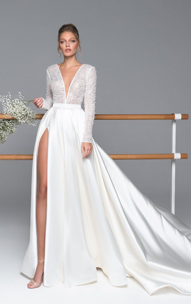 Kylie Wedding Dresses Long Wedding Dresses Online Wedding Dress