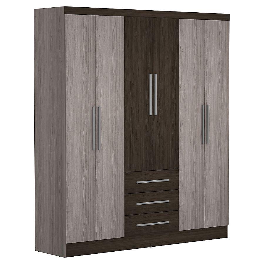 Closet 3 Cajones 6 Puertas Bedroom Cupboard Designs Cupboards Bedroom Modern Wardrobe Design Bedroom