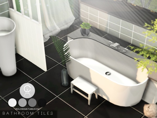 Pralinesims Bathroom Tiles Sims 4 Sims Sims 4 Cc Furniture
