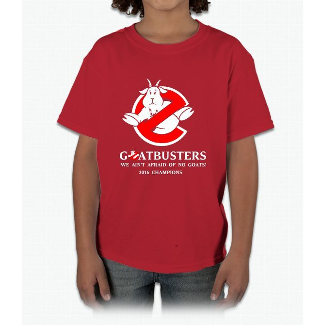 Goatbusters 2016 Champions chicago cubs Young T-Shirt