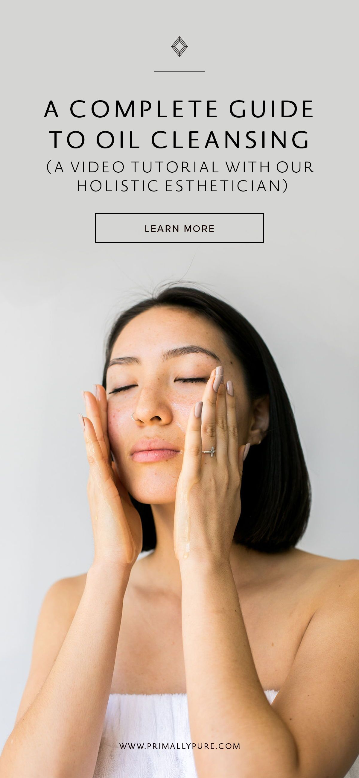 How To Oil Cleanse A Video Tutorial With Images Clear Skin