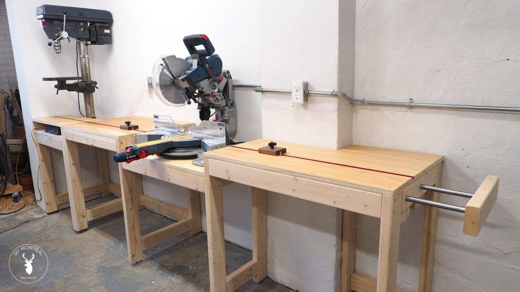 Miter Saw Station Woodworking Stuff Mitre Saw Station