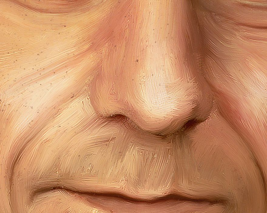 Oil Painting in photoshop