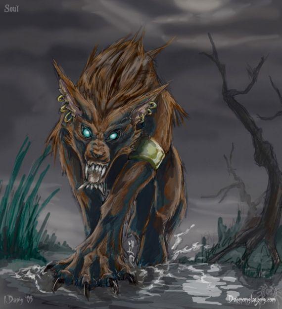 Loup garou recherche google loup garous pinterest - Dessin loup garou ...