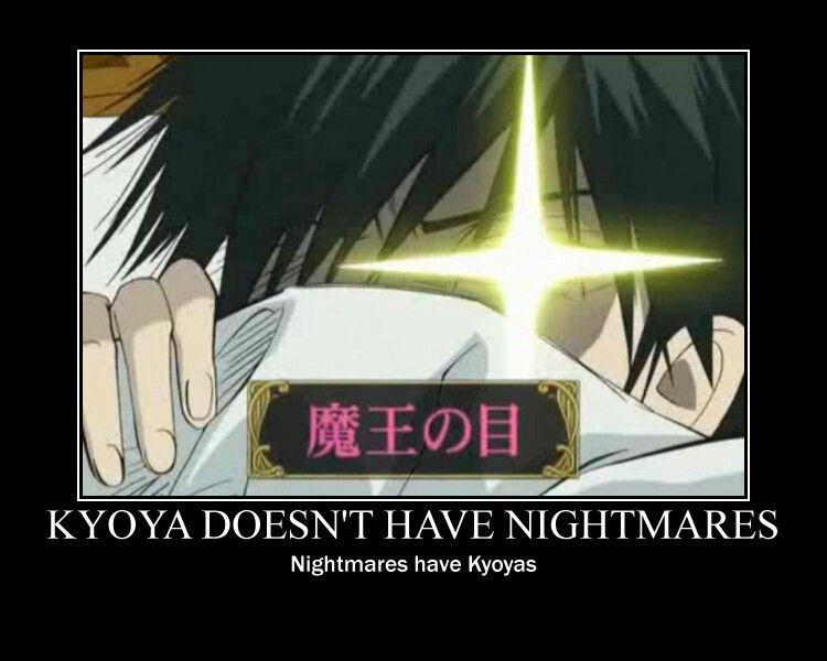 Kyoya Ootori Waking Up
