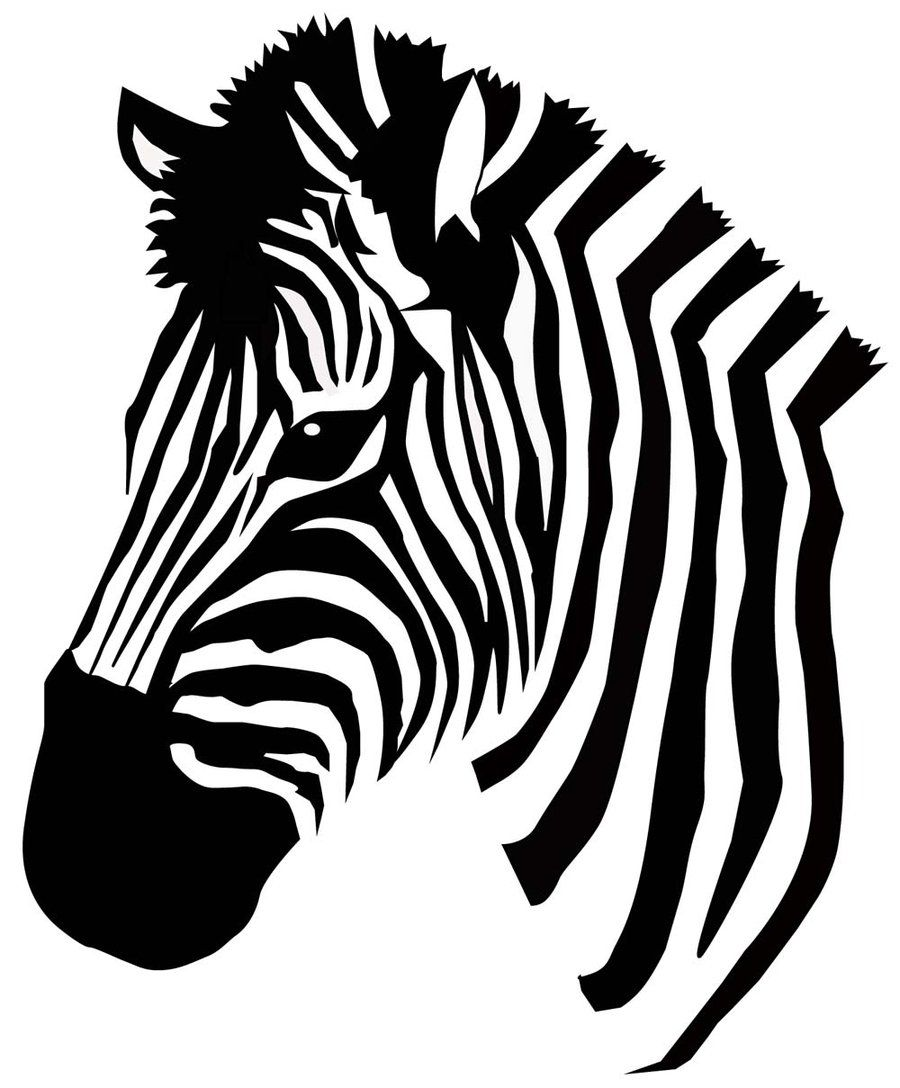 zebra vector craft projects pinterest freezer paper mandala rh pinterest ca zebra victor vasarely medium zebra vector tileable