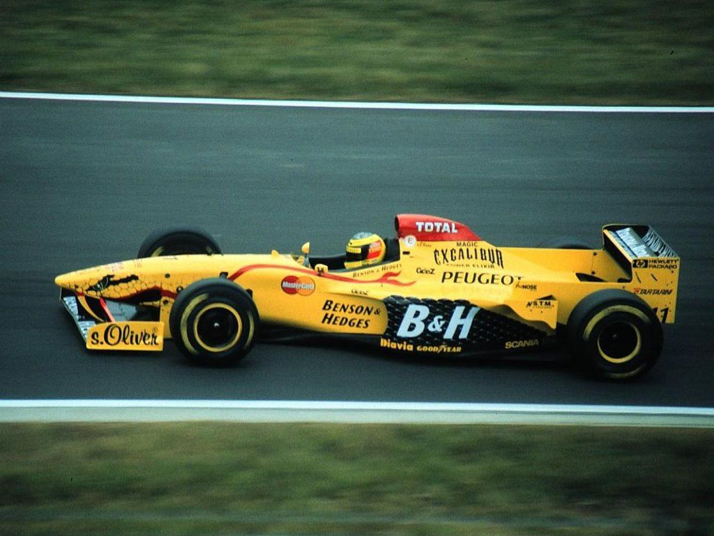 Ralf Schumacher Jordan 197 (Peugeot) 1997 Interlagos