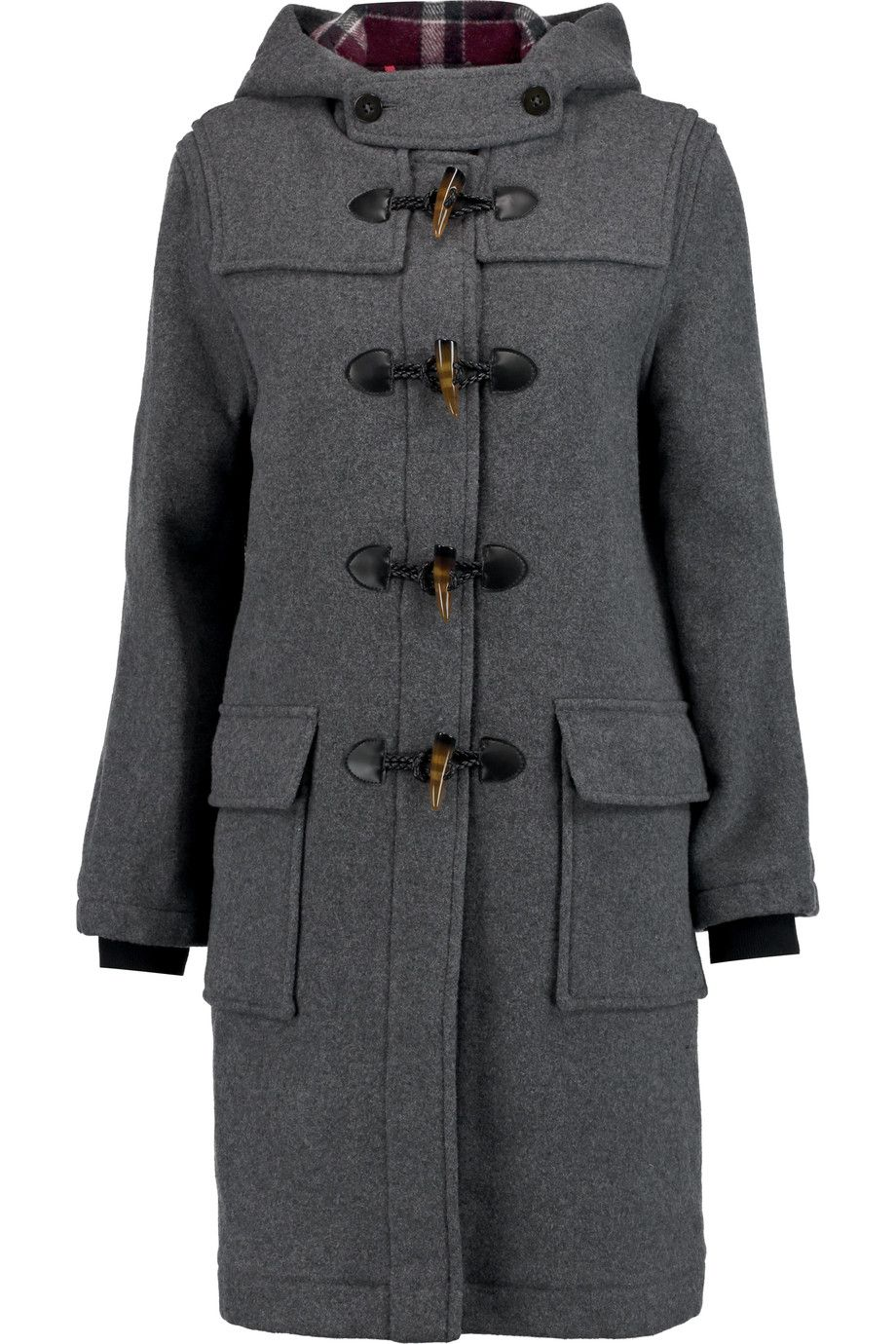 MARC BY MARC JACOBS Paddington wool-blend duffle coat ...