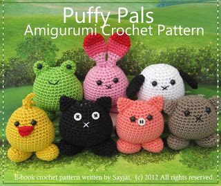 Amigurumi crochet patterns ~ K and J Dolls / K and J Publishing: Animal crochet patterns