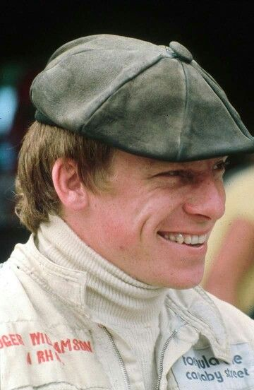 Roger Williamson. A promising English driver who tragically died in a fiery crash in Zandvoort, 1970 GP. Better Safety measures and trained track marshall would have saved his life. | (ph: www.web.de)