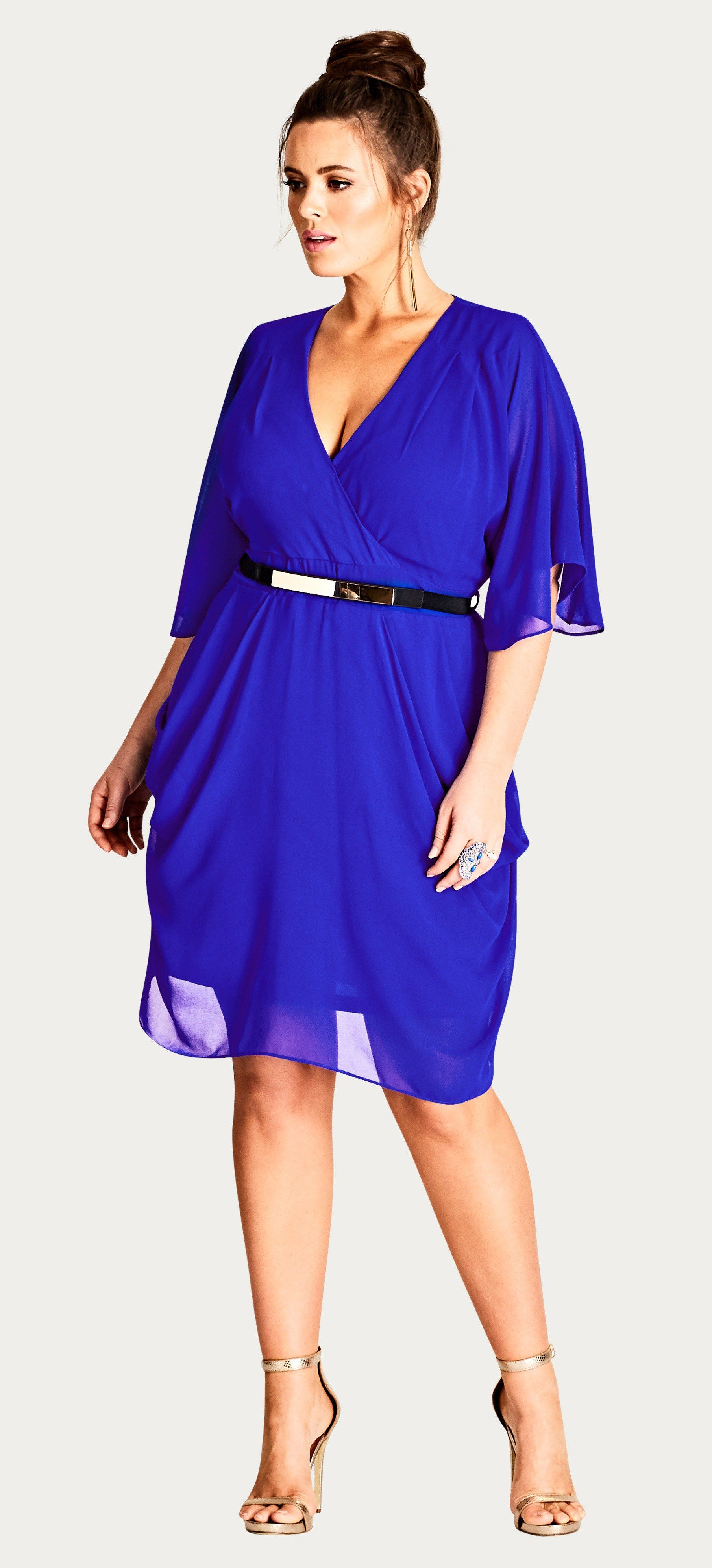 55 Plus Size Wedding Guest Dresses {with Sleeves | Vestido para ...