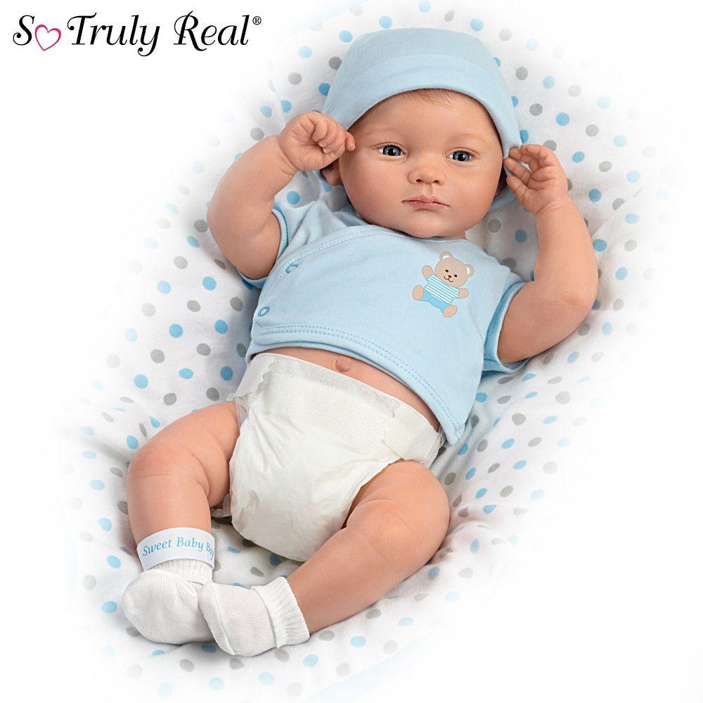 Little Grace Girl Doll Ashton Drake So Truly Real Bradford Exchange