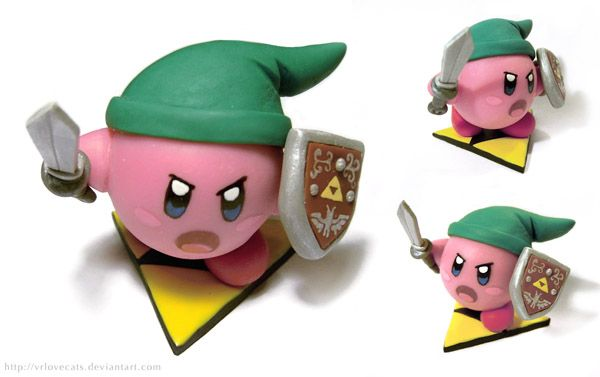 Kirby link fan made clay figure diy by vrlovecats awesome to do it kirby link polymer clay charmspolymer clay projectspolymer clay creationsclay craftspolymer projectkirby nintendodiy solutioingenieria Images