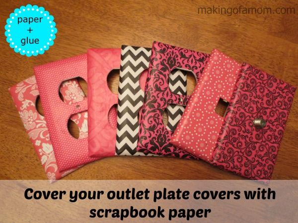How To Cover Your Light Switch Covers Girls Rooms Pinterest