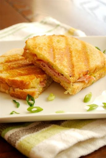 Ham and Gruyere Panini Recipe on Yummly