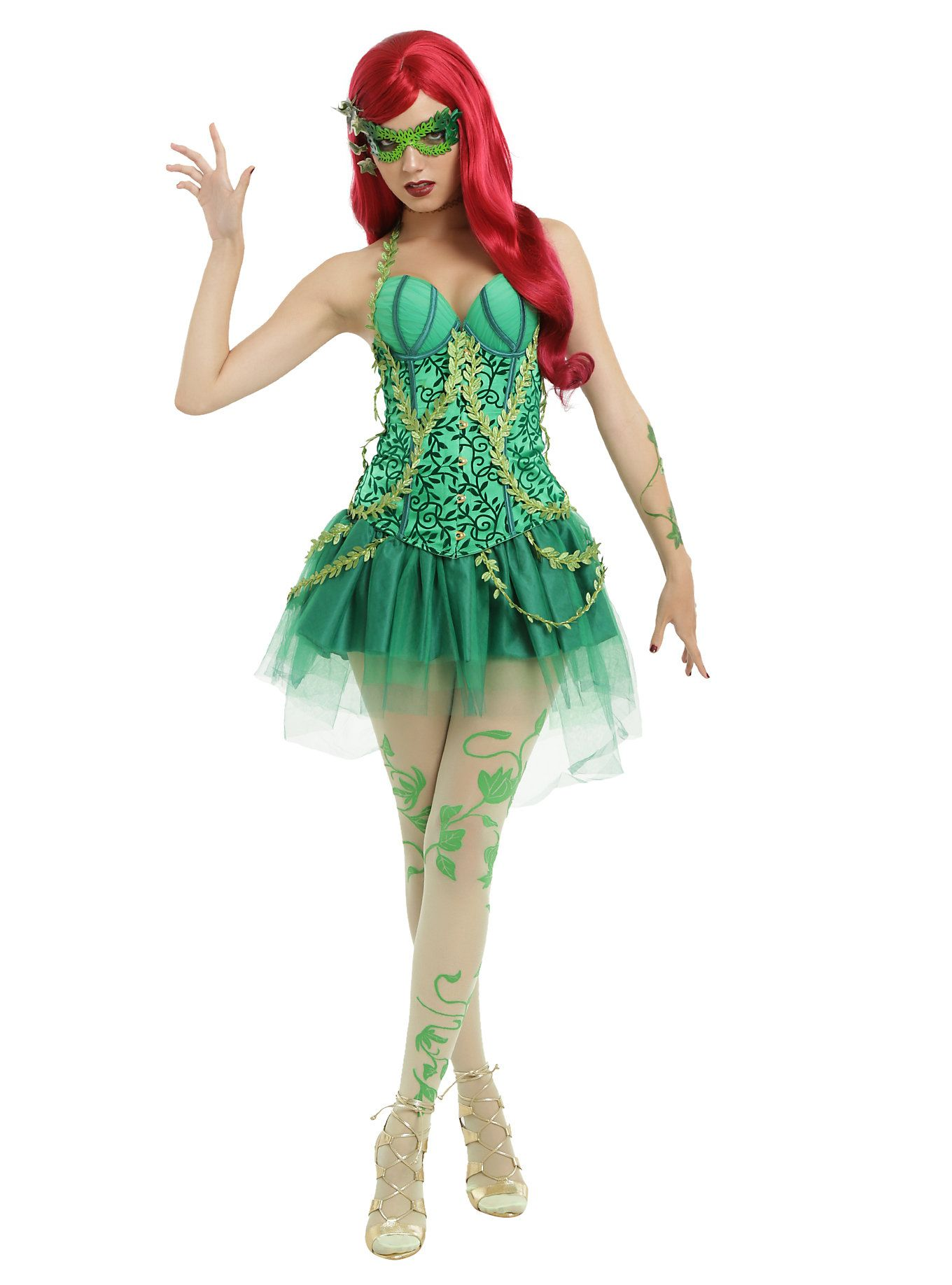Poison Ivy Hot Topic Halloween Fall In 2019 Poison Ivy