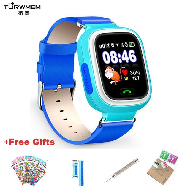 Q90 GPS Kid Smart Watch Baby Antilost Watches SOS Call