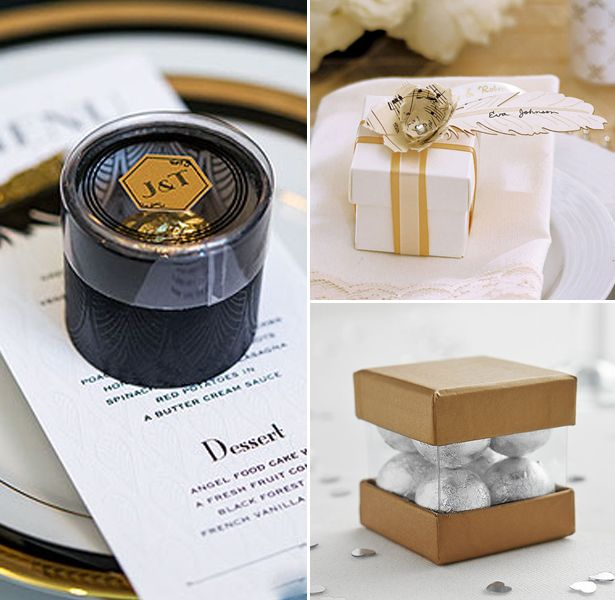 Art Deco Great Gatsby Wedding Inspiration