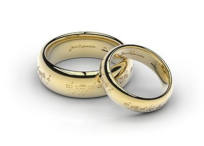 One Ring To Show Our Love One Ring To Bind Us One Ring To Seal