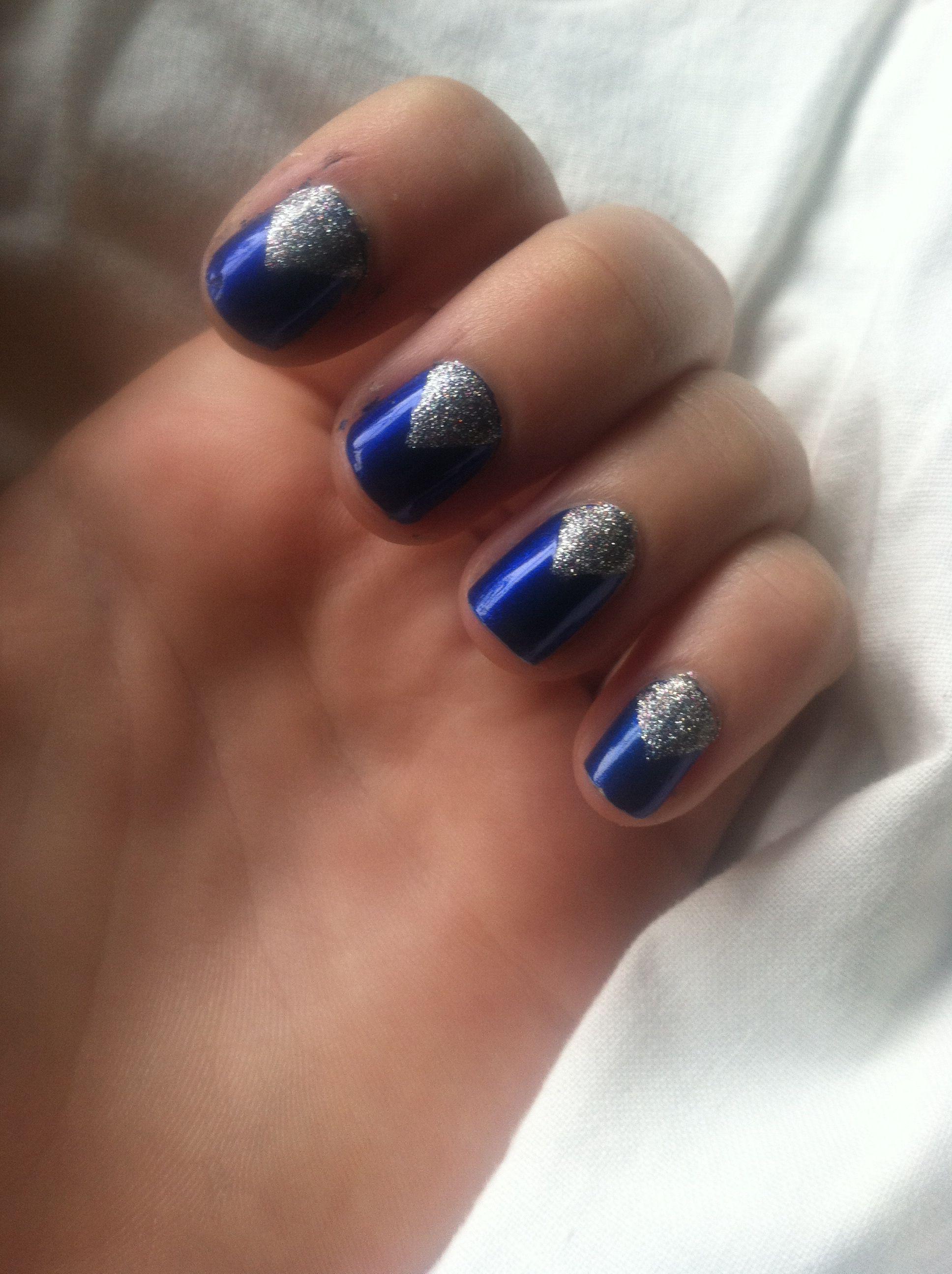Homecoming Nail Easy Diy Nail Design Nails By Me Pinterest