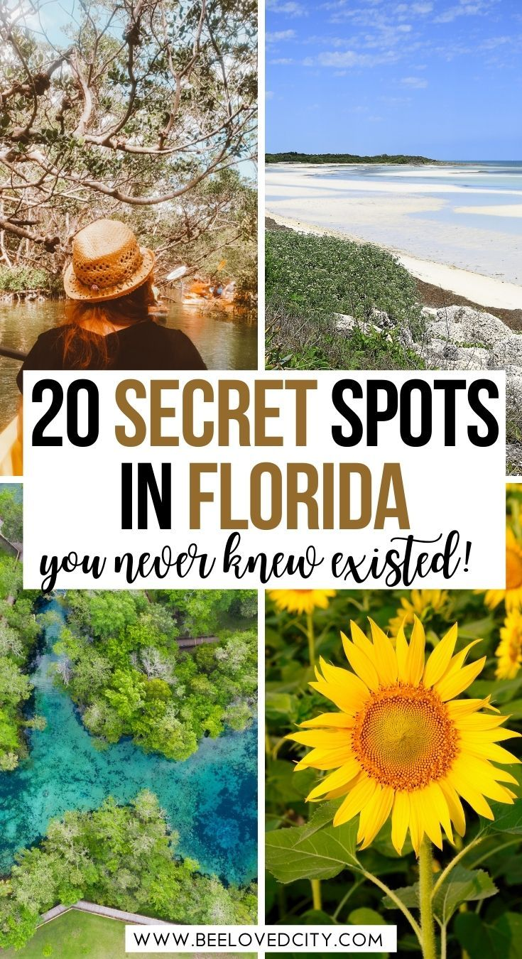 20 Secret Spots in Florida you never knew existed
