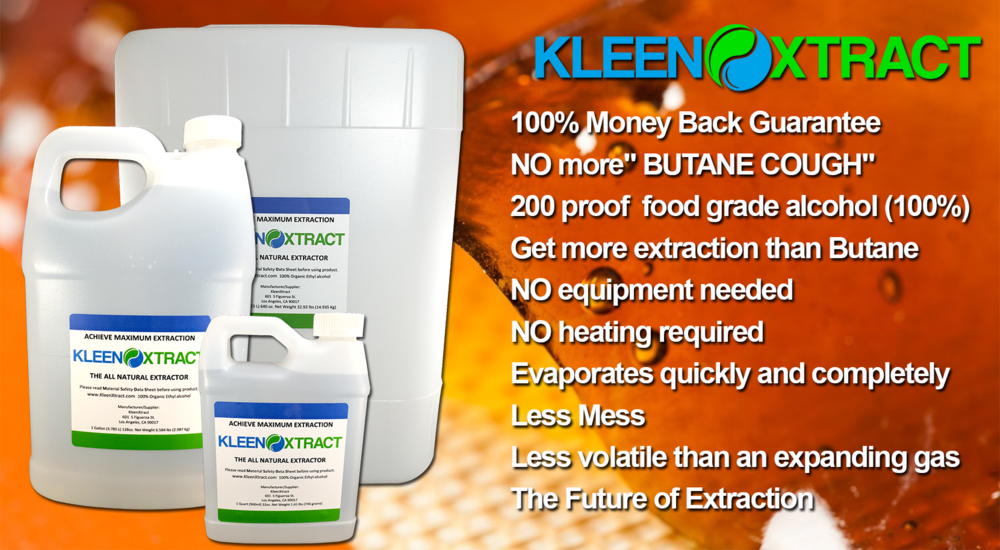 KleenXtract 200 proof Food Grade Alcohol | DIY home products