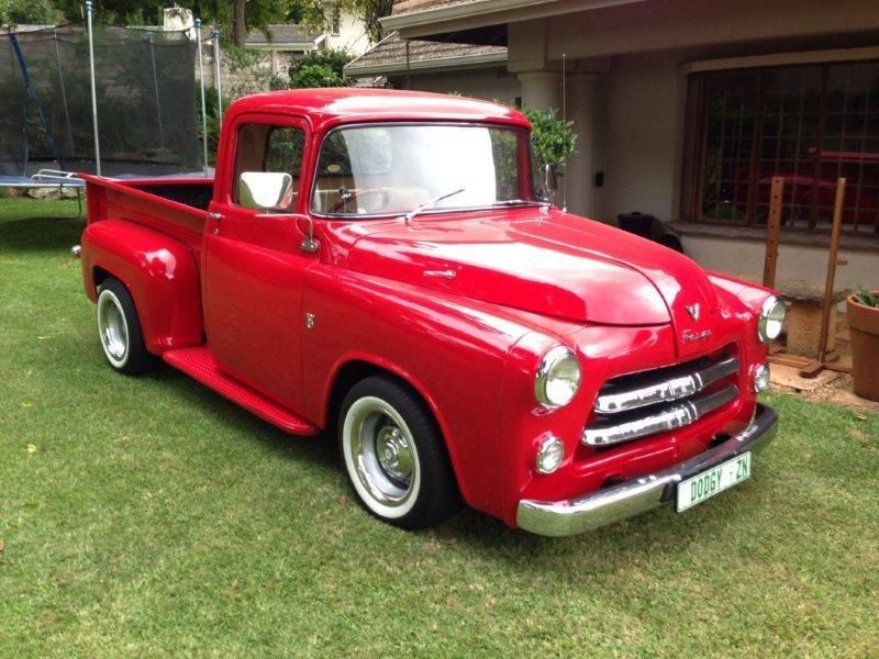 1956 Fargo: 1 of 3 in DIVISION OF PLYMOUTH & DODGE TRUCKS of ca ...