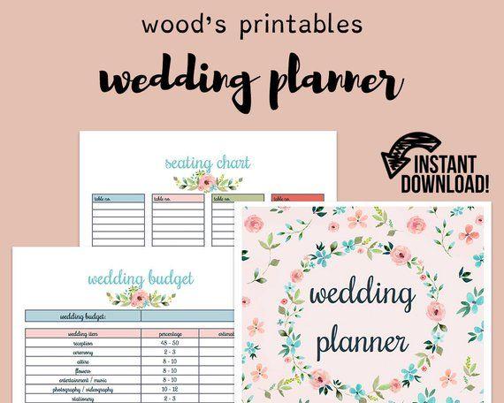 wedding planner wedding binder wedding planner book wedding