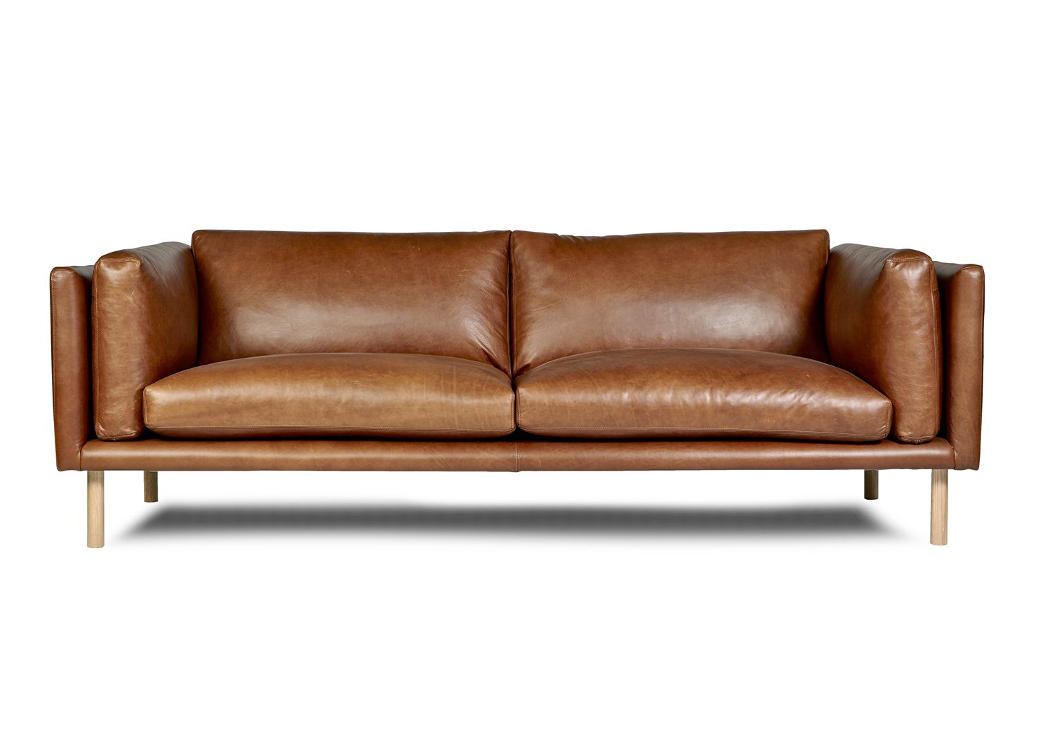 Conrad sofa by arthur g modern leather sofa made in for Sofa bed australia