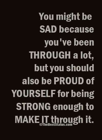 Quotes On Being Strong Pinclarissa Michel On Quotes  Pinterest  Staying Strong And .