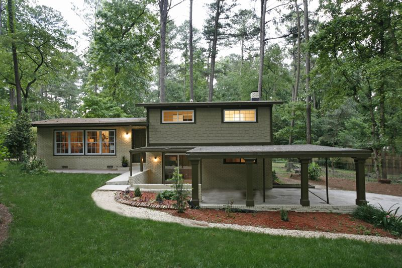house - Mid Century Modern Home Exterior Paint Colors