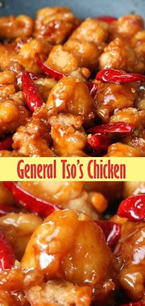 General Tso's Chicken #chinesefood