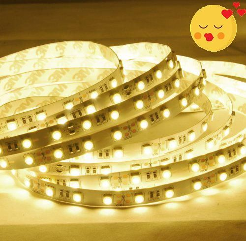 Abi warm white led strip light 600 leds 10 meters 328 feet manythings this reel of high brightness warm white led strip light is designed for aloadofball Image collections