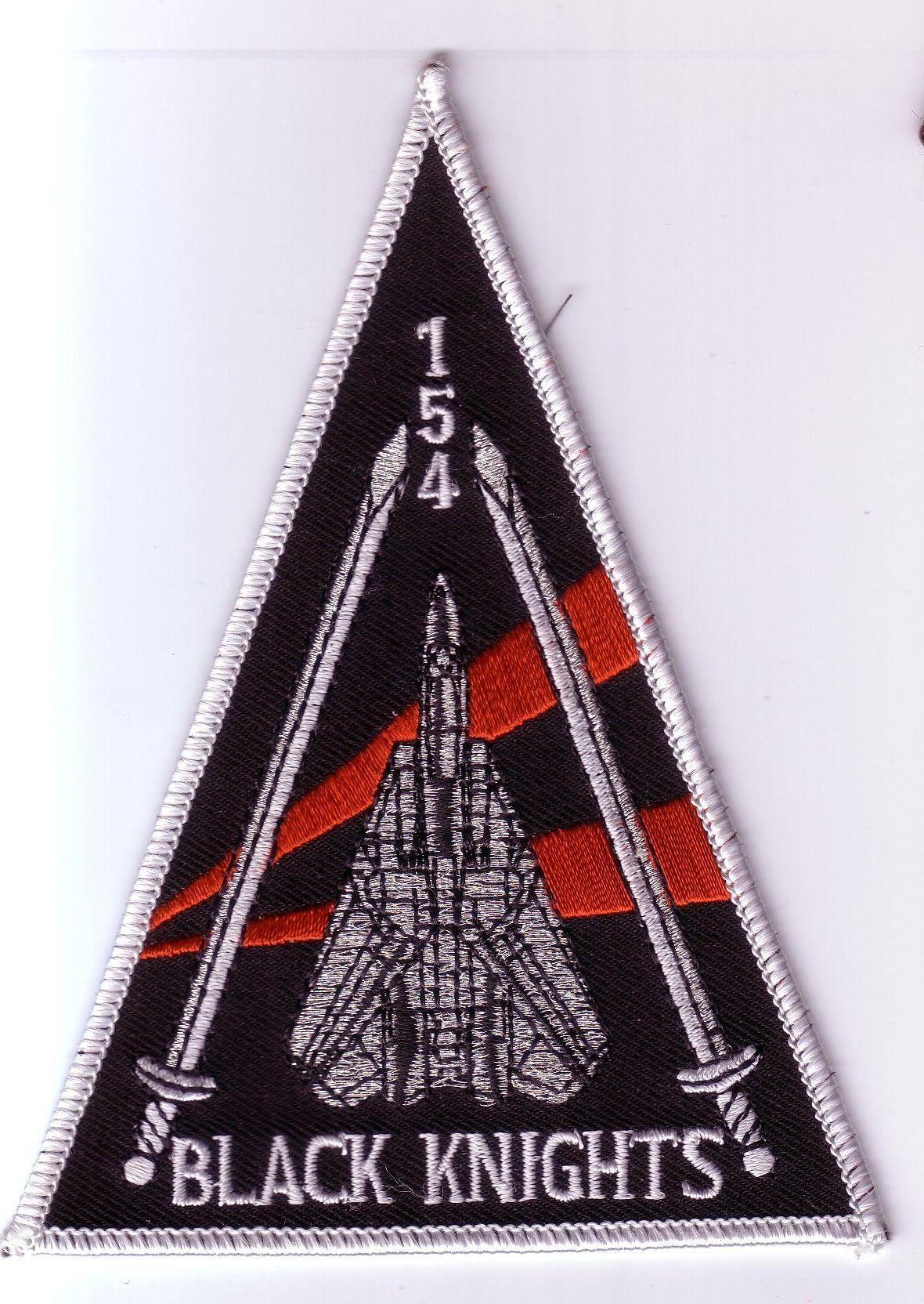 VF-154 BLACK KNIGHTS - F-14 TOMCAT Shoulder Triangle