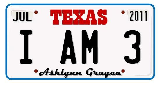 Xl Texas License Plate Photo Prop Inspired From Cars