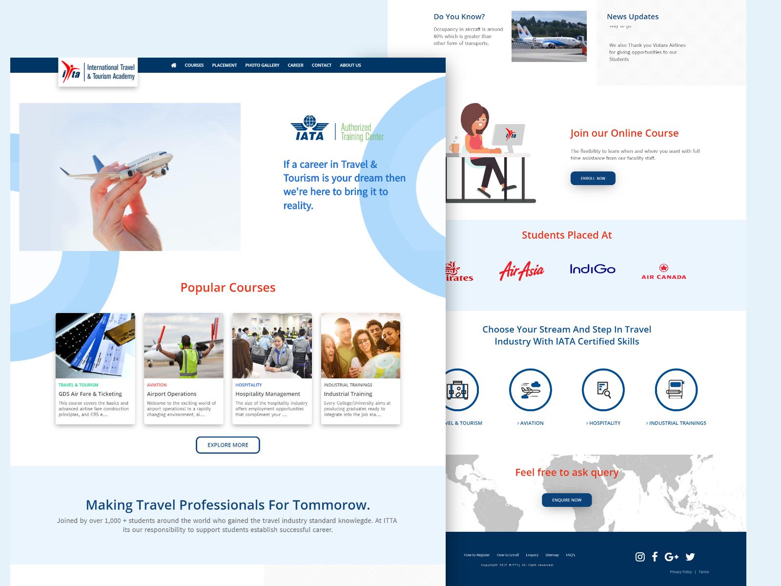 Education Website Design And Development Project Website Redesign Web Development Design Website Design