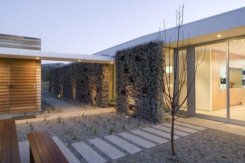 Mur Et Cloture Gabion Idees Pour Le Jardin En 33 Photos Cloture