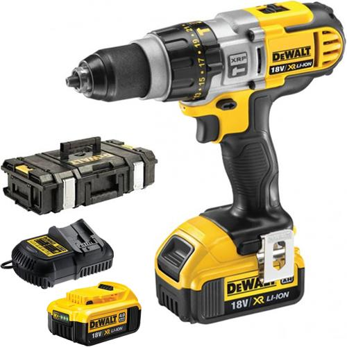 Click To Enlarge Dewalt Dcd985m2 Xr Li Ion 18v Heavy Duty Combi Drill With Two 4 0ah Batteries Dewalt Drill Dewalt Power Tools
