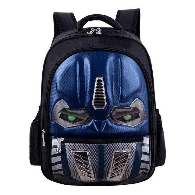 e534e7da93 Eyes Glow 3D Cartoon School Bags For Boys Children Backpack Primary Bookbag  Schoolbags Mochila Infantil sac a dos enfant