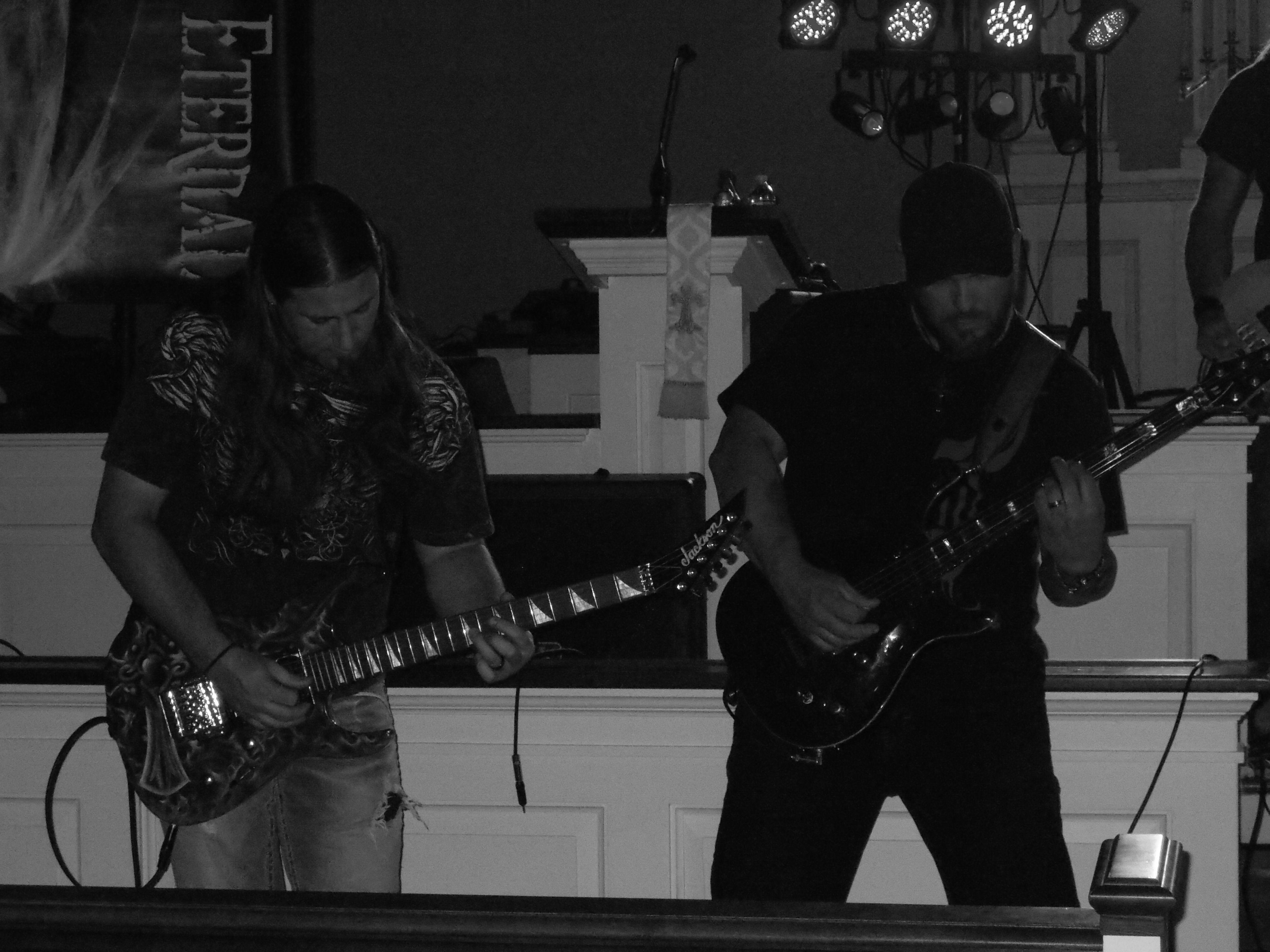 The band Encounter Eternal in full swing!!!