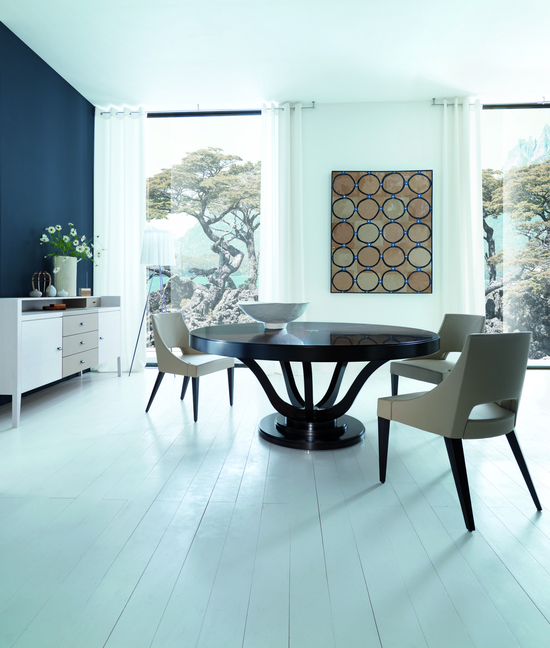 SELVA Table VICTORIA design Tiziano Bistaffa + Chair WALDORF design ...