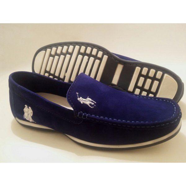 d00acb98b9 Mocassim Ralph Lauren Sport Azul Bic