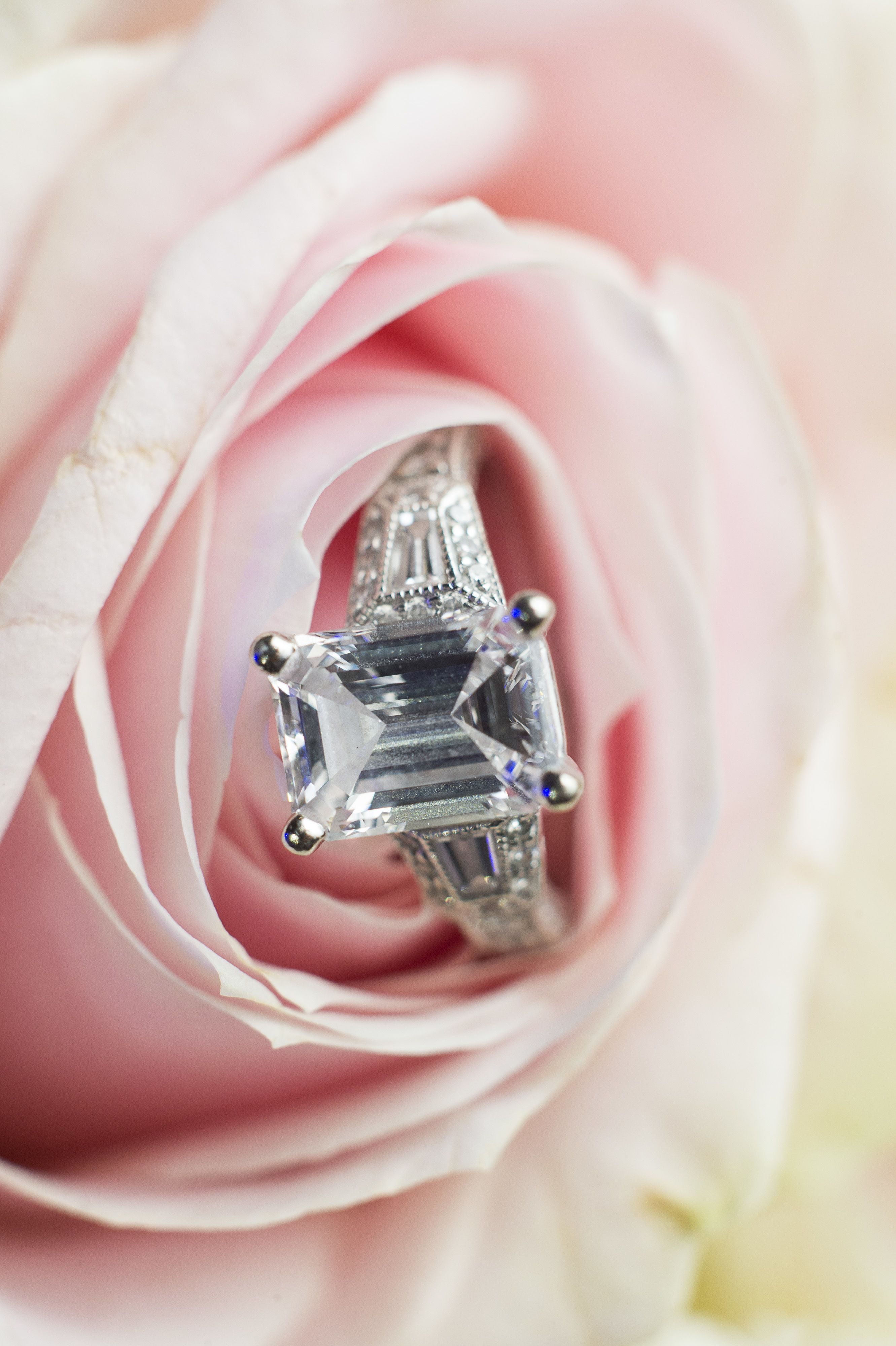 Inspired by: Ali Fedotowsky Stunning Emerald-Cut Engagement Ring ...