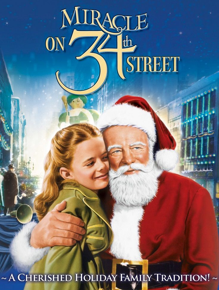 Miracle On 34th Street When A Nice Old Man Who Claims To Be Santa Claus Is Institution Family Christmas Movies Miracle On 34th Street Classic Christmas Movies
