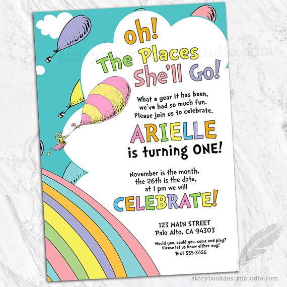 Details This Birthday Invitation Is Perfect For Your Little Ones Special Day Colors And Wording Can Be Customized However You Like